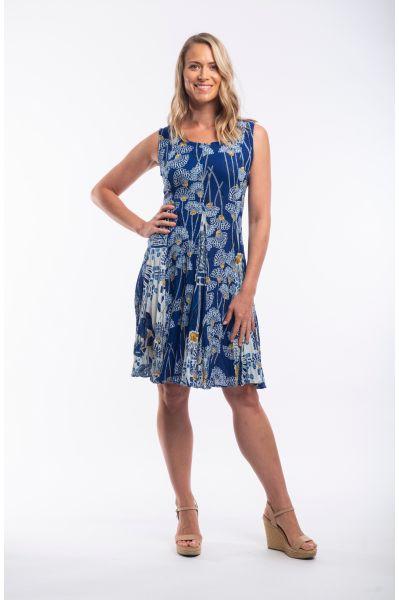 SEVILLE DRESS GODET SL
