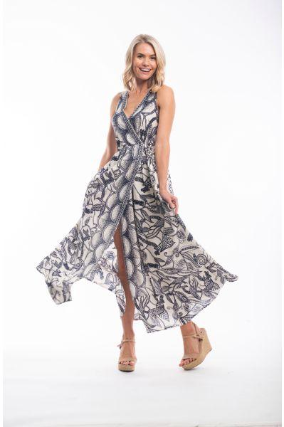 VALENCIA DRESS MAXI WRAP